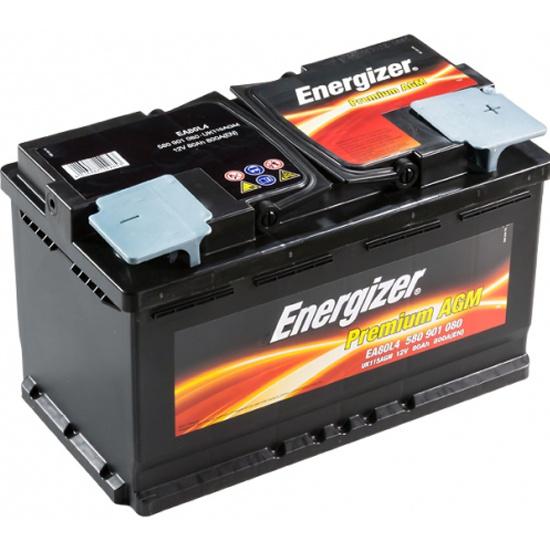Аккумулятор ENERGIZER AGM EA80L4 580 901 080, 80 Ач — купить в интернет-магазине ОНЛАЙН ТРЕЙД.РУ