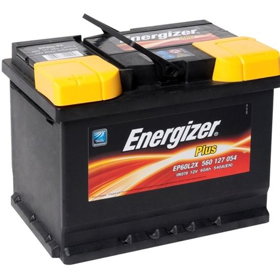 Аккумулятор ENERGIZER Plus EP60L2X 560 127 054 прямая полярность 60 Ач — купить в интернет-магазине ОНЛАЙН ТРЕЙД.РУ