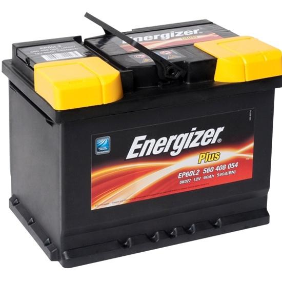 Аккумулятор ENERGIZER Plus EP60L2 560 408 054 обратная полярность 60 Ач 560 408 054 EP60L2 - низкая цена, доставка или самовывоз по Самаре. Аккумулятор Энерджайзер Plus EP60L2 560 408 054 обратная полярность 60 Ач купить в интернет магазине ОНЛАЙН ТРЕЙД.РУ.