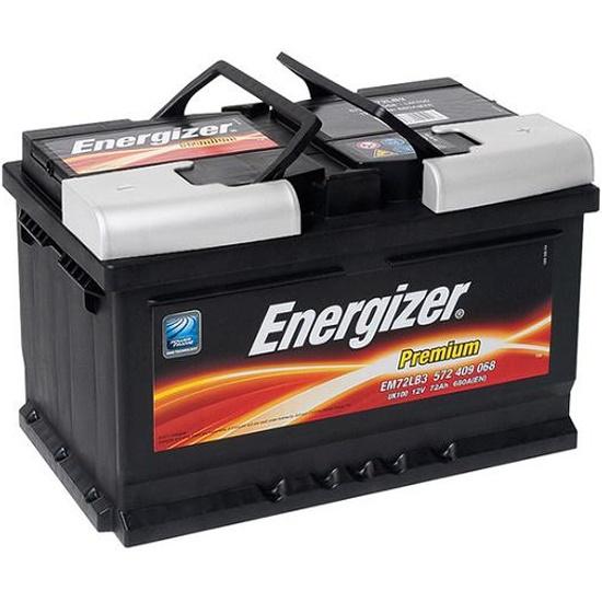 Аккумулятор ENERGIZER PREMIUM EM72LB3 572 409 068 680А обратная полярность 72 Ач 572 409 068 EM72LB3 - купить по выгодной цене в интернет-магазине ОНЛАЙН ТРЕЙД.РУ Набережные Челны