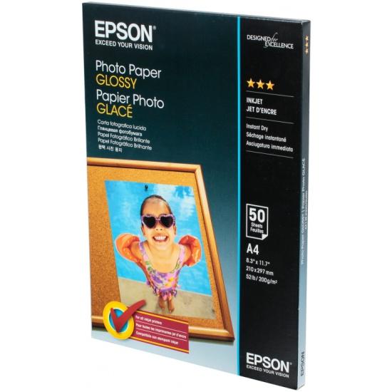 Бумага EPSON C13S042539 Photo Paper A4 (50 листов)- купить по выгодной цене в интернет-магазине ОНЛАЙН ТРЕЙД.РУ Тула
