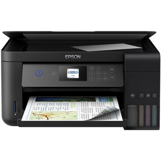 Струйное МФУ Epson L4160 C11CG23403 - купить по выгодной цене в интернет-магазине ОНЛАЙН ТРЕЙД.РУ Тула