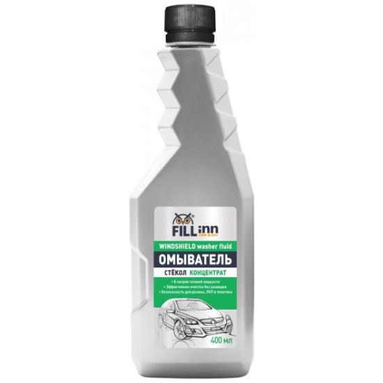 Жидкость для стеклоомывателя FILL Inn FL073 концентрат, 400 мл — купить в интернет-магазине ОНЛАЙН ТРЕЙД.РУ