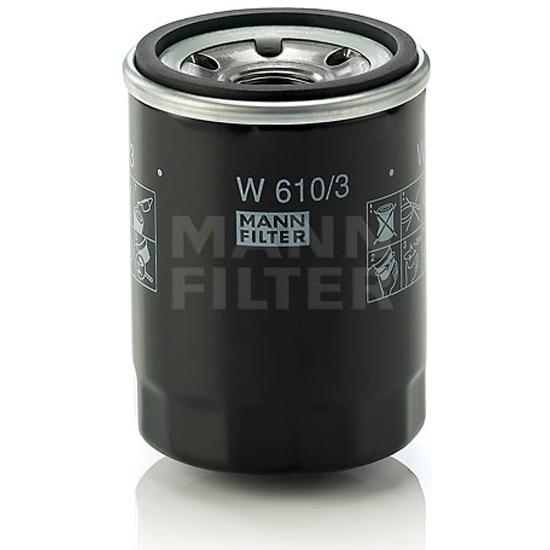 Фильтр масляный MANN-FILTER W 610/3- низкая цена, доставка или самовывоз по Твери. Фильтр масляный MANN-FILTER W 610/3 купить в интернет магазине ОНЛАЙН ТРЕЙД.РУ.