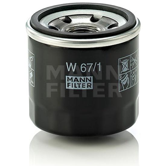 Фильтр масляный MANN-FILTER W 67/1 — купить в интернет-магазине ОНЛАЙН ТРЕЙД.РУ