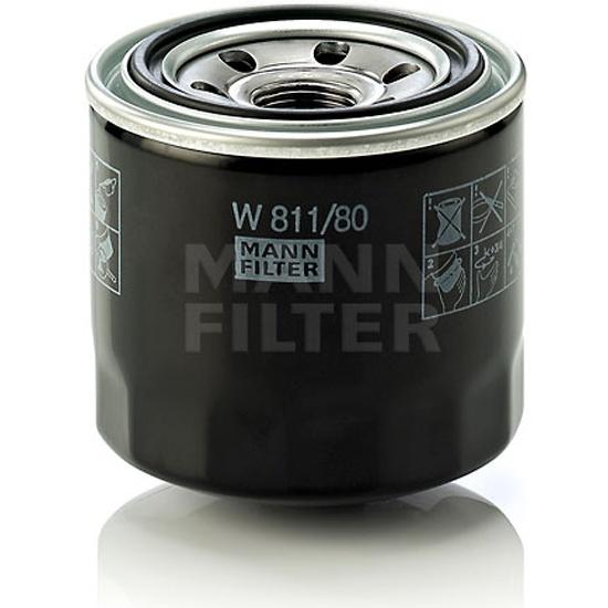 Фильтр масляный MANN-FILTER W 811/80- низкая цена, доставка или самовывоз по Челябинску. Фильтр масляный MANN-FILTER W 811/80 купить в интернет магазине ОНЛАЙН ТРЕЙД.РУ
