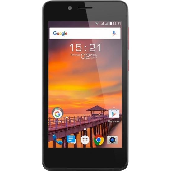 ac0576e767f47 Смартфон Fly FS458 Stratus 7 Black - купить в интернет магазине с  доставкой, цены,