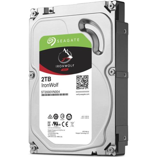 Жесткий диск Seagate Ironwolf 3.5 2.0 Tb SATA III 64 Mb 5900 rpm ST2000VN004 — купить в интернет-магазине ОНЛАЙН ТРЕЙД.РУ