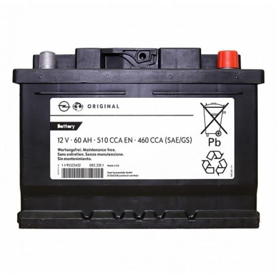 Аккумулятор GM Standart 95523432 обратная полярность 60 Ач- купить по выгодной цене в интернет-магазине ОНЛАЙН ТРЕЙД.РУ Тула