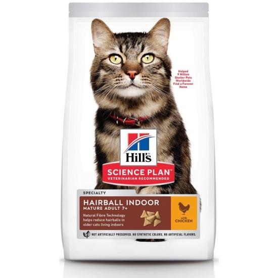 Корм сухой для пожилых кошек Hill