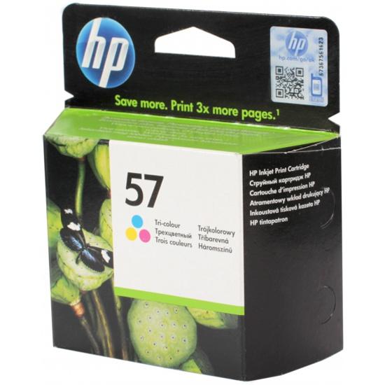 Картридж HP C6657AE № 57, цветной — купить в интернет-магазине ОНЛАЙН ТРЕЙД.РУ