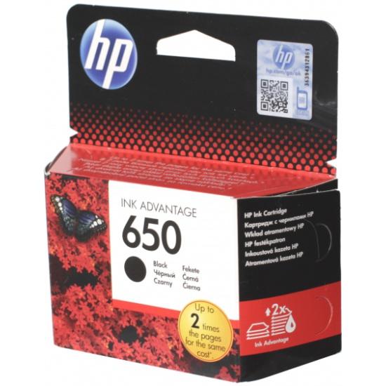 Картридж HP CZ101AE № 650, черный для Deskjet Ink Advantage 2515, 3515- купить по выгодной цене в интернет-магазине ОНЛАЙН ТРЕЙД.РУ Тольятти