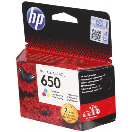Картридж HP CZ102AE № 650, цветной для Deskjet Ink Advantage 2515, 3515- купить по выгодной цене в интернет-магазине ОНЛАЙН ТРЕЙД.РУ Тула