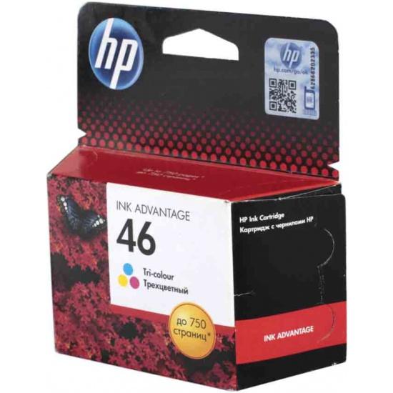 Картридж HP CZ638AE № 46 цветной для Deskjet IA 2520hc/2020hc- купить в интернет-магазине ОНЛАЙН ТРЕЙД.РУ в Чебоксарах.