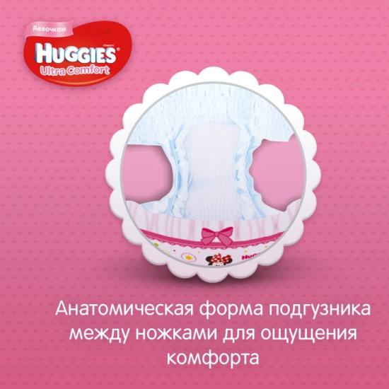 Подгузники Huggies (Хаггис) Ultra Comfort для девочек 3 (5-9 кг) 21 ... 3c83bfebaf8