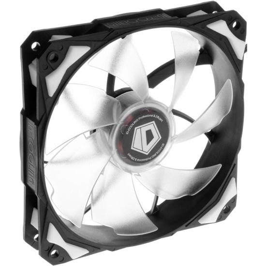Вентилятор для корпуса ID-Cooling PL-12025-W White LED/PWM- купить по выгодной цене в интернет-магазине ОНЛАЙН ТРЕЙД.РУ Волгоград