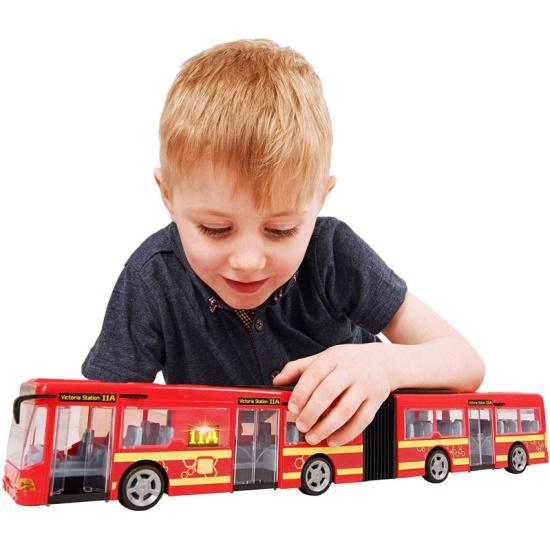 Игрушка HTI 1416566 Автобус с гармошкой 46 см (свет, звук ...