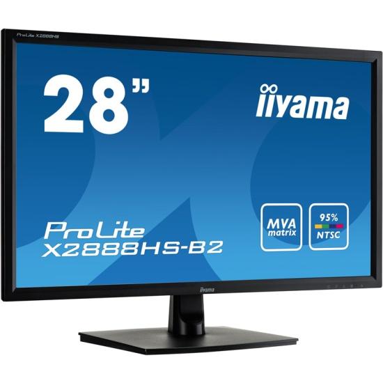 Монитор Iiyama X2888HS-B2 28, Black — купить в интернет-магазине ОНЛАЙН ТРЕЙД.РУ