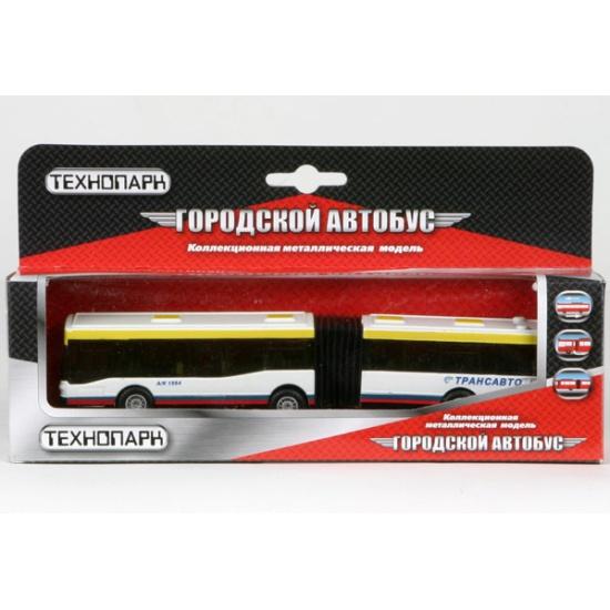 Инерционная модель Технопарк Автобус с резиновой гармошкой ...