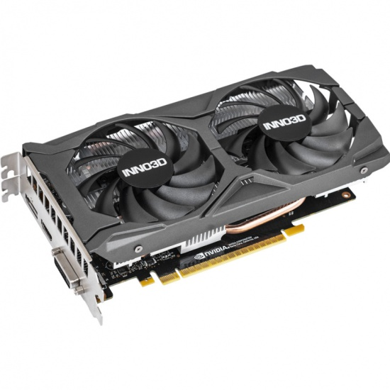 Видеокарта INNO3D GeForce GTX 1650 SUPER 4096Mb TWIN X2 OC (N165S2-04D6X-1720VA31) — купить в интернет-магазине ОНЛАЙН ТРЕЙД.РУ