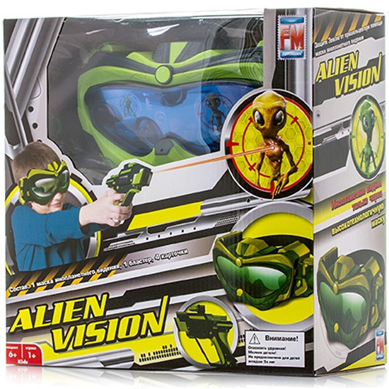 Игрушка Fotorama Alien Vision 851