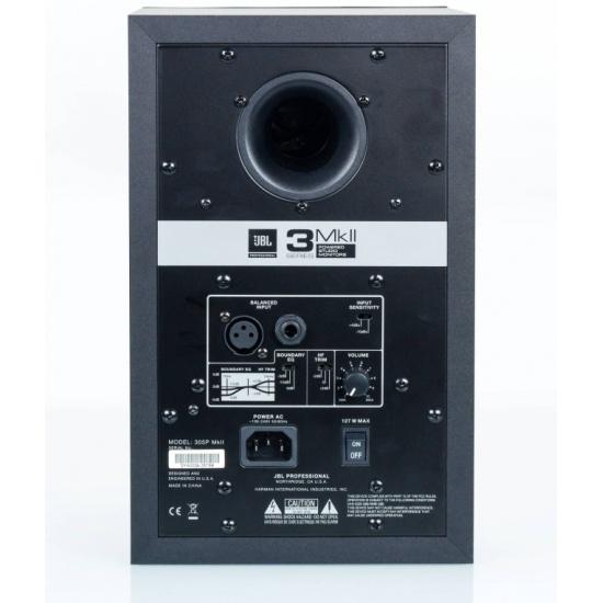 Акустическая система JBL 305P MkII, черный Изображение 3 - купить в интернет магазине с доставкой, цены, описание, характеристики, отзывы