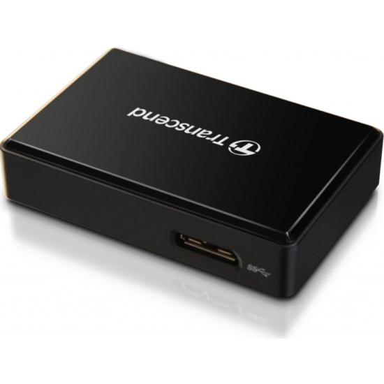 Картридер Transcend TS-RDF8K2 All-in-1 USB 3.1 black — купить в интернет-магазине ОНЛАЙН ТРЕЙД.РУ