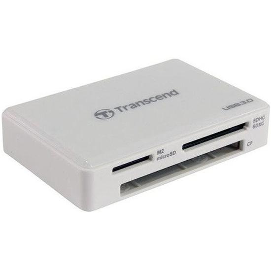 Картридер Transcend TS-RDF8W2 All-in-1 USB 3.1 white — купить в интернет-магазине ОНЛАЙН ТРЕЙД.РУ