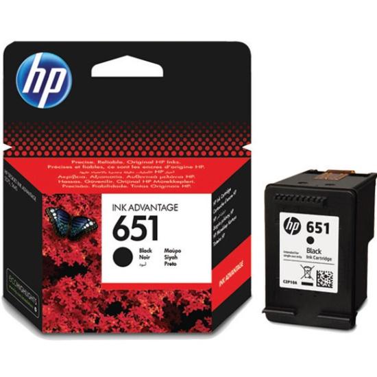 Картридж HP C2P10AE № 651 черный для Deskjet Ink Advantage 5645, 5575