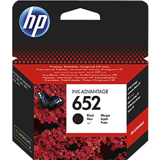 Картридж HP F6V25AE № 652 черный для Deskjet Ink Advantage 1115/2135/3635/3775/4535/3835/4675 (360стр.) — купить в интернет-магазине ОНЛАЙН ТРЕЙД.РУ
