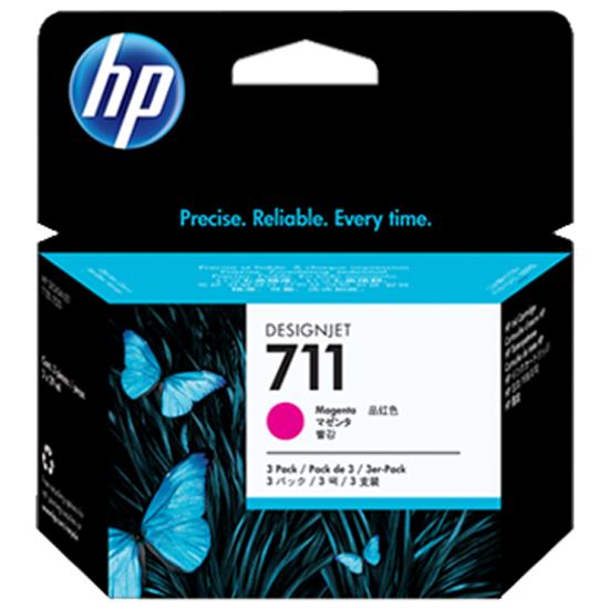 Картриджи CZ135A набор из 3х шт HP №711, пурпурный- купить по выгодной цене в интернет-магазине ОНЛАЙН ТРЕЙД.РУ Санкт-Петербург