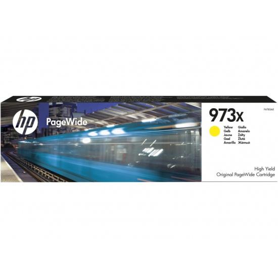 Картридж F6T83AE HP 973X Yellow (Желтый) 7000 стр, Pagewide 452dw/477dw & P55250dw/MFP P57750dw — купить в интернет-магазине ОНЛАЙН ТРЕЙД.РУ