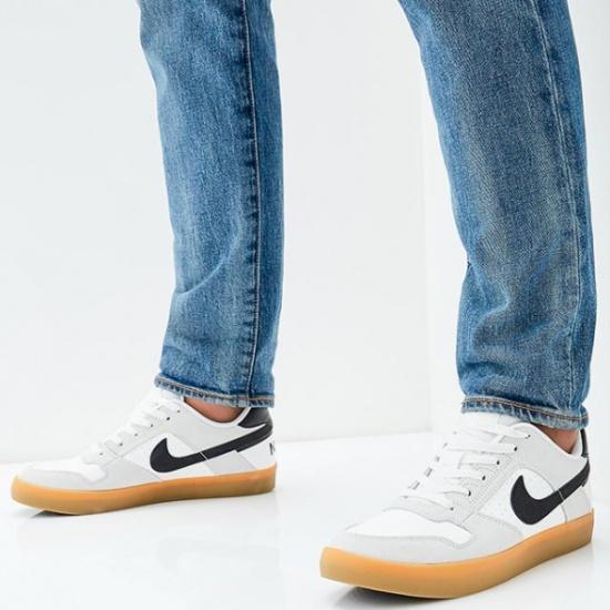 0031fdd4f036 Кеды NIKE 942237-101 SB Delta Force Vulc Skateboarding Shoe мужские, цвет  белый, размер 41