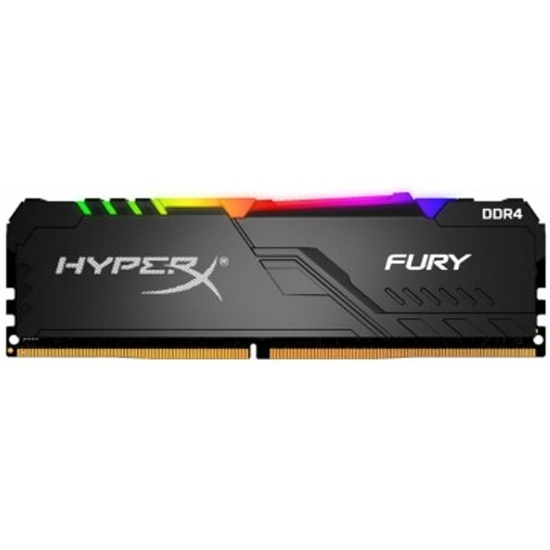 Оперативная память Kingston DDR4 16Gb 3200 MHz pc-25600 HyperX FURY Black RGB (HX432C16FB3A/16) — купить в интернет-магазине ОНЛАЙН ТРЕЙД.РУ