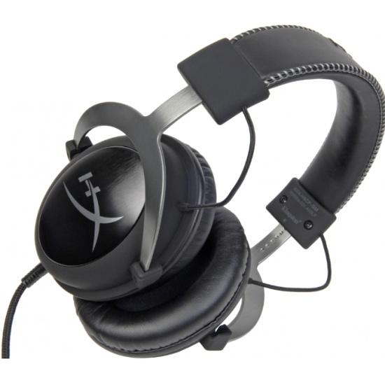 Игровая гарнитура HyperX Cloud II GunMetal KHX-HSCP-GM - купить по выгодной цене в интернет-магазине ОНЛАЙН ТРЕЙД.РУ Саратов