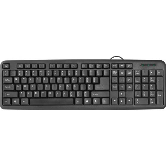 Клавиатура Defender HB-420 RU Black (45420) — купить в интернет-магазине ОНЛАЙН ТРЕЙД.РУ