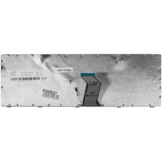 Клавиатура Lenovo G500, G505, G510, G700, G710 25210962 Black, black frame, гор. Enter