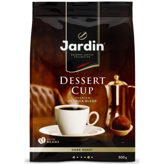 Кофе в зернах JARDIN Dessert Cup, 500 г, м/у - купить в интернет магазине с доставкой, цены, описание, характеристики, отзывы