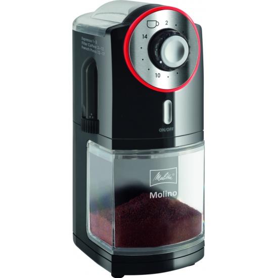 Кофемолка Melitta Molino черно-красная Melitta 21295 - купить по выгодной цене в интернет-магазине ОНЛАЙН ТРЕЙД.РУ Тюмень