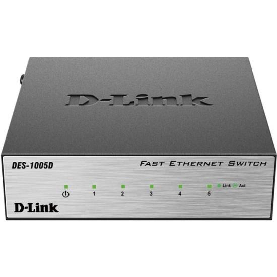 Коммутатор D-Link DES-1005D/O2B 5 ports 10/100Base — купить в интернет-магазине ОНЛАЙН ТРЕЙД.РУ
