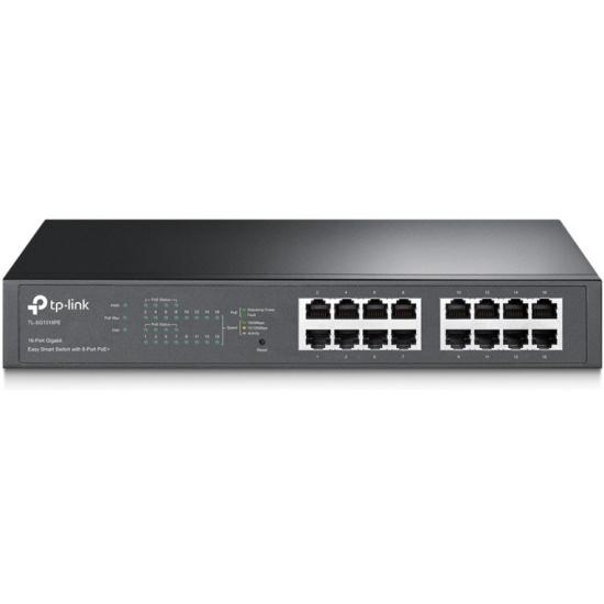 Коммутатор TP-Link TL-SG1016PE 16G 8PoE+ 110W управляемый — купить в интернет-магазине ОНЛАЙН ТРЕЙД.РУ