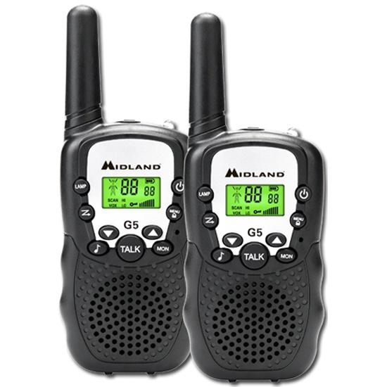 Комплект радиостанций Midland G5 black- купить в интернет-магазине ОНЛАЙН ТРЕЙД.РУ в Чебоксарах.