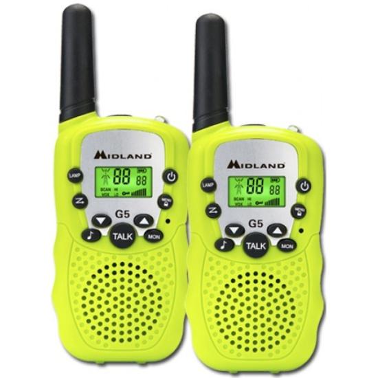 Комплект радиостанций Midland G5 yellow — купить в интернет-магазине ОНЛАЙН ТРЕЙД.РУ