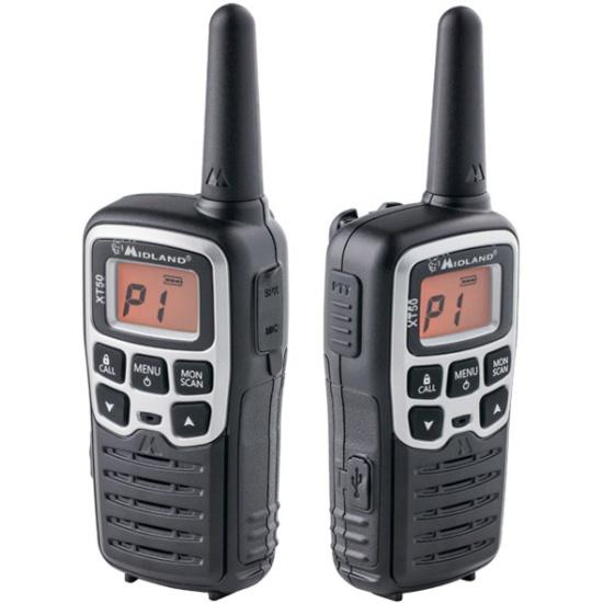 Комплект радиостанций Midland XT50 — купить в интернет-магазине ОНЛАЙН ТРЕЙД.РУ