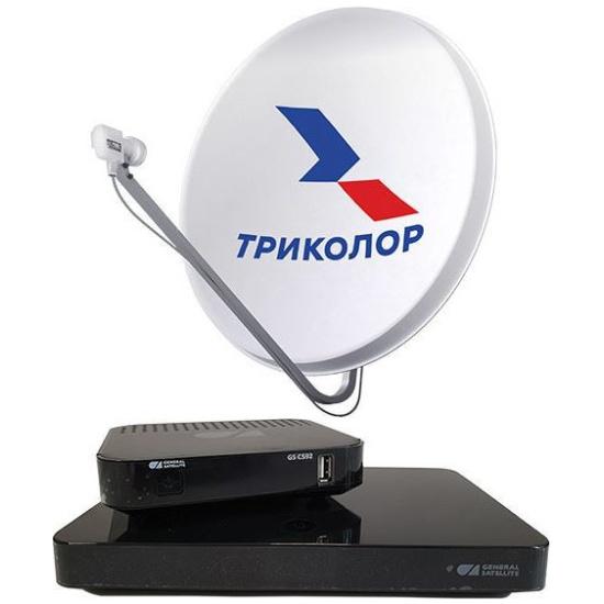 Комплект спутникового телевидения Триколор ТВ Ultra HD (GS B528 и GS C592) — купить в интернет-магазине ОНЛАЙН ТРЕЙД.РУ
