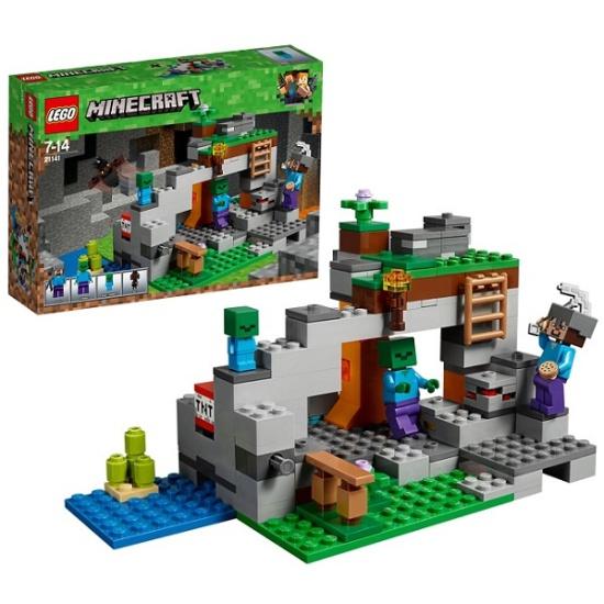 Конструктор LEGO Minecraft 21141 Пещера зомби — купить в интернет-магазине ОНЛАЙН ТРЕЙД.РУ