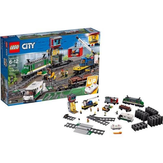 Конструктор LEGO City Trains 60198 Товарный поезд — купить в интернет-магазине ОНЛАЙН ТРЕЙД.РУ