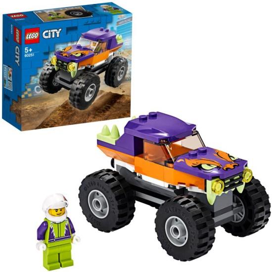 Конструктор LEGO® City Great Vehicles 60251 Монстр-трак 60251 LEGO - низкая цена, доставка или самовывоз по Челябинску. Конструктор Лего® City Great Vehicles 60251 Монстр-трак купить в интернет магазине ОНЛАЙН ТРЕЙД.РУ