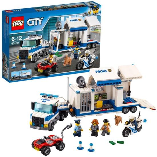 Конструктор LEGO City Police 60139 Мобильный командный центр — купить в интернет-магазине ОНЛАЙН ТРЕЙД.РУ