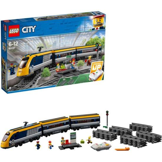 Конструктор LEGO City Trains 60197 Пассажирский поезд — купить в интернет-магазине ОНЛАЙН ТРЕЙД.РУ